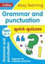 Grammar & Punctuation Quick Quizzes: Ages 5-7