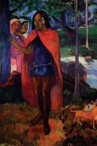 """The Sorcerer of Hiva OA Marquesan Man in the Red Cape"" by Paul Gauguin - 1902"