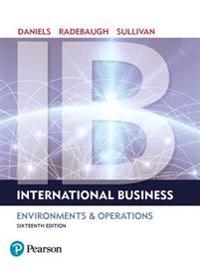 International Business Plus Mylab Management with Pearson Etext -- Access Card Package