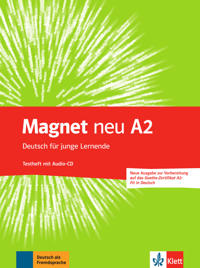 Magnet neu A2. Testheft + Audio-CD (Goethe-Zertifikat A2: Fit in Deutsch)