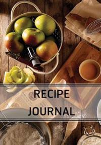 Recipe Journal: Blank Cookbook / Recipes & Notes with Index / 7x10: Diary, Cookbook, Recipe Journal