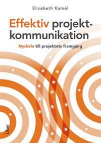 Effektiv projektkommunikation : nyckeln till projektets framgång
