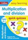 Multiplication & Division Quick Quizzes Ages 5-7