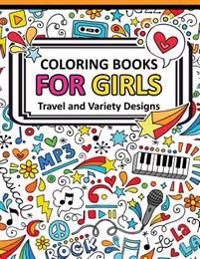 Coloring Book for Girls Doodle Cutes: The Really Best Relaxing Colouring Book for Girls 2017 (Cute, Animal, Dog, Cat, Elephant, Rabbit, Owls, Bears, K