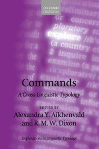 Commands: A Cross-Linguistic Typology