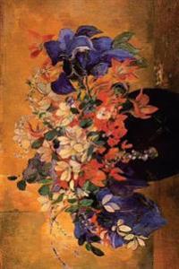 """Vase of Flowers"" by Paul Gauguin - 1886: Journal (Blank / Lined)"