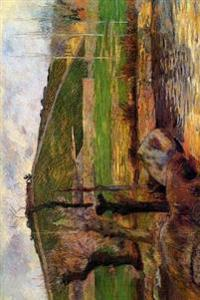 """River Aven Below Mount Saint Marguerite"" by Paul Gauguin - 1888: Journal (Blank"