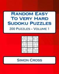 Random Easy to Very Hard Sudoku Puzzles