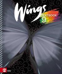 Wings 9 Textbook, inkl ljudfiler