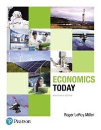 Economics Today Plus Myeconlab with Pearson Etext -- Access Card Package [With Access Code]