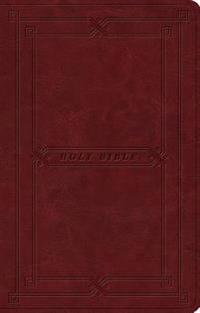 ESV Premium Gift Bible (Trutone, Cordovan, Vintage Frame Design)