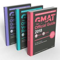 GMAT Official Guide + GMAT Official Guide Verbal Review + GMAT Official Guide Quantitative Review 2018