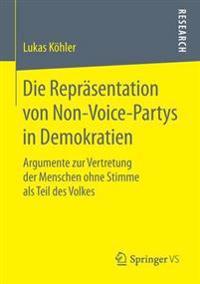 Die Repr sentation Von Non-Voice-Partys in Demokratien