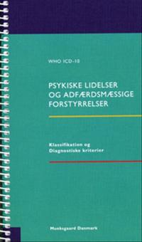 WHO ICD-10 - Psykiske lidelser og adfærdsmæssige forstyrrelser