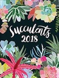 Succulents 2018 Poster Calendar