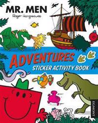 MR MEN Adventures Sticker Activity Book