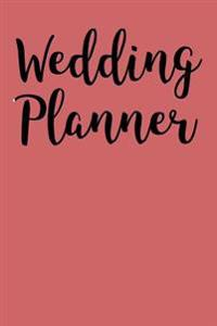 Wedding Planner: Blank Lined Journal - 6x9 - Profession