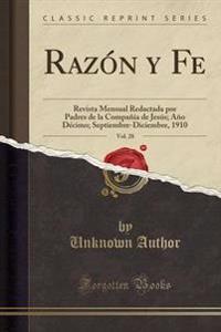 Raz�n y Fe, Vol. 28