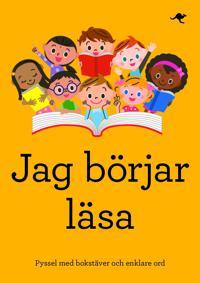 Jag börjar läsa : pyssel med bokstäver och enklare ord
