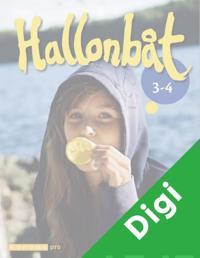 Hallonbåt 3 - 4 Opettajan CD