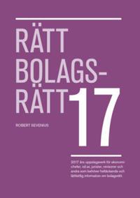 Rätt Bolagsrätt 2017 (bok)