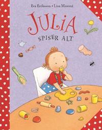 Julia spiser alt