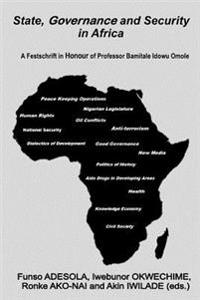 State, Governance and Security in Africa