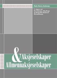 Aksjeselskaper og allmennaksjeselskaper
