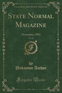 State Normal Magazine, Vol. 16