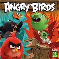 Angry Birds 2018 Wall Calendar