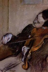 ''The Violist'' by Edgar Degas - 1880: Journal (Blank / Lined)