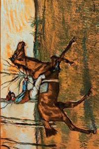 ''The Jockey'' by Edgar Degas: Journal (Blank / Lined)
