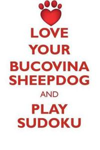 Love Your Bucovina Sheepdog and Play Sudoku Bucovina Sheepdog Sudoku Level 1 of 15