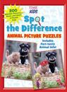 Spot the Difference Animal Picture Puzzles