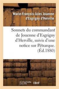 Sonnets Du Commandant de Jouenne D'Esgrigny D'Herville,