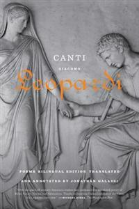 Canti: Poems / A Bilingual Edition