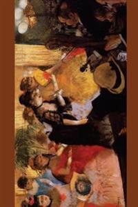 ''The Cafe Concert'' by Edgar Degas - 1877: Journal (Blank / Lined)