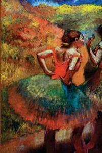 ''Two Dancers in Green Skirts Landscape Scener'' by Edgar Degas: Journal (Blank / Lined)