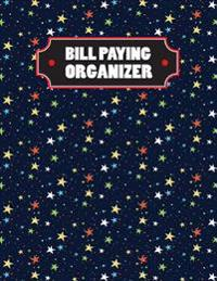 Bill Paying Organizer: Large Print(8.5x11) - Monthly Bill Organizer with Daily Expense Tracker - 365 Days(12 Month) for Personal or Family Vo