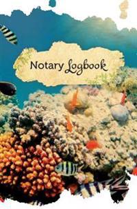 Notary Log Book: (Notary Public Logbook, Notary Journal, Notary Record Book) Under Water Adventure