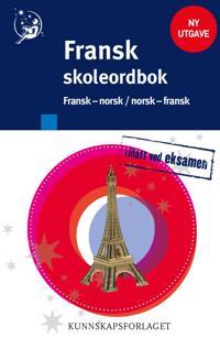 Fransk skoleordbok; fransk-norsk, norsk-fransk