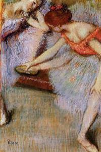 ''Dancers'' by Edgar Degas - 1895: Journal (Blank / Lined)