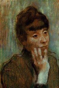 ''Portrait of a Woman Wearing a Green Blouse'' by Edgar Degas: Journal (Blank / Lined)