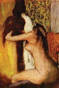 After the Bath Woman Drying Her Nape by Edgar Degas - 1895: Journal (Blank / L