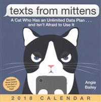 Texts from Mittens 2018 Calendar