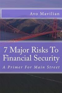7 Major Risks to Financial Security: A Primer for Main Street