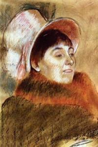 ''Madame Deitz Monin'' by Edgar Degas - 1879: Journal (Blank / Lined)
