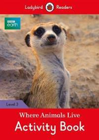 Where Animals Live Activity Book