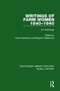 Writings of Farm Women, 1840-1940