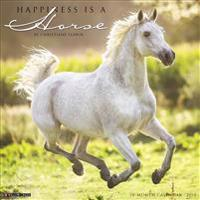 Happiness Is a Horse 2018 Wall Calendar